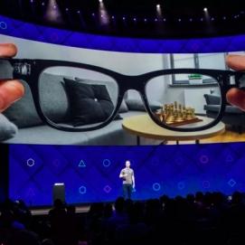 Image Di Masa Depan, Buka Facebook Hanya Dengan Menggunakan Kacamata