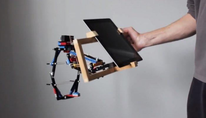 """image """"Stabilizer Action-Cam"""" Layaknya Profesional Yang Terbuat Dari LEGO"""