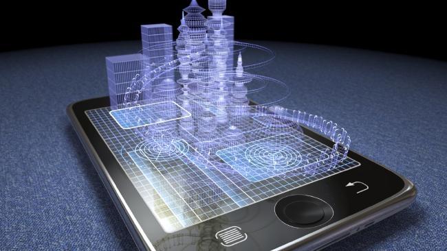 """image Masa  Depan """"Smartphone"""" Dengan Layar Hologram Semakin Nyata"""