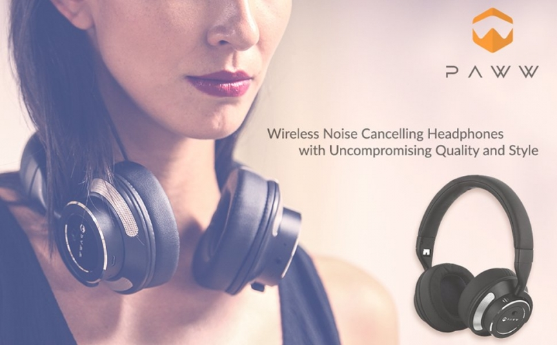 image Suara Jernih dengan Paww WaveSound 3 Bluetooth Headphones (Clear Noise with Paww WaveSound 3 Bluetooth Headphones)