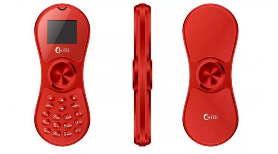 image Unik! Sebuah Ponsel yang Bisa Dijadikan Fidget Spinner!