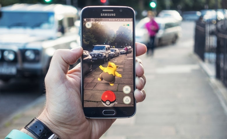 image Connection Between Augmented Reality And Digital Marketing
