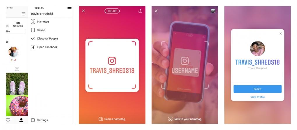 image Instagram Rilis Update Terbarunya, Nametag