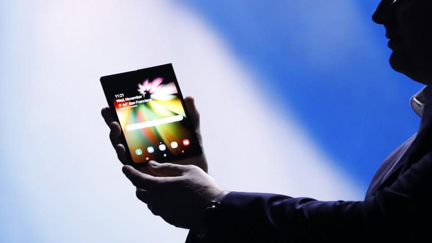 image Samsung Resmi Umumkan Kehadiran Smartphone Lipat Pertamanya, Ini Cara Kerjanya