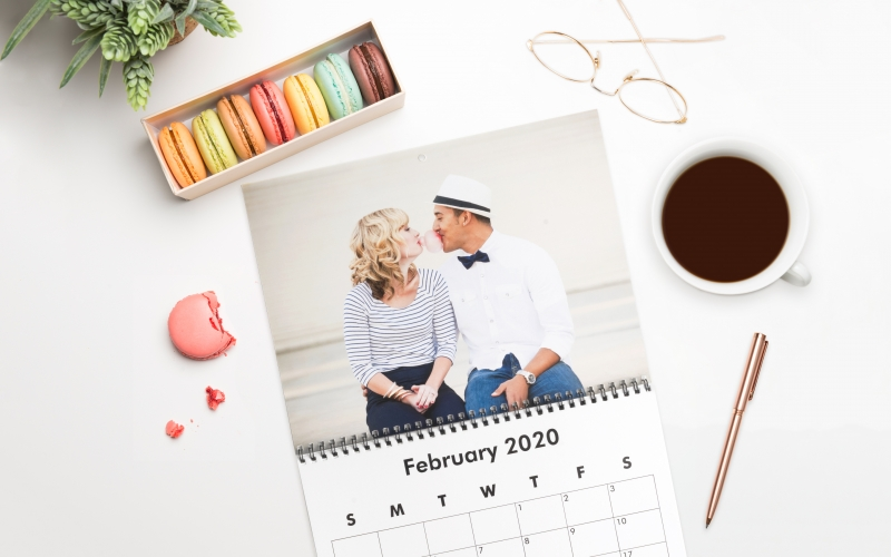 image 6 Desain Kalender Kreatif Untuk Meja Anda