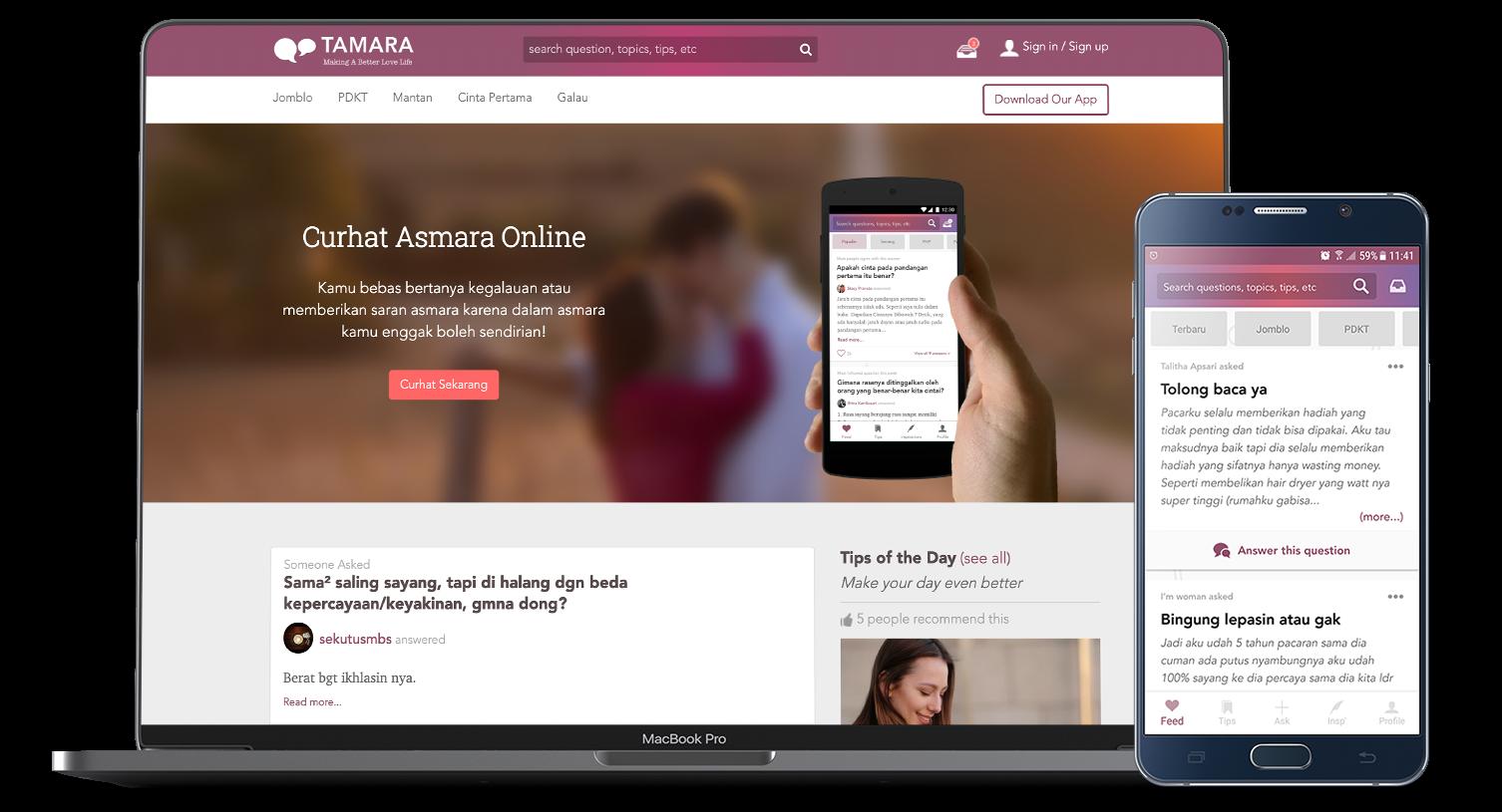 Tamara - Curhat Asmara Online