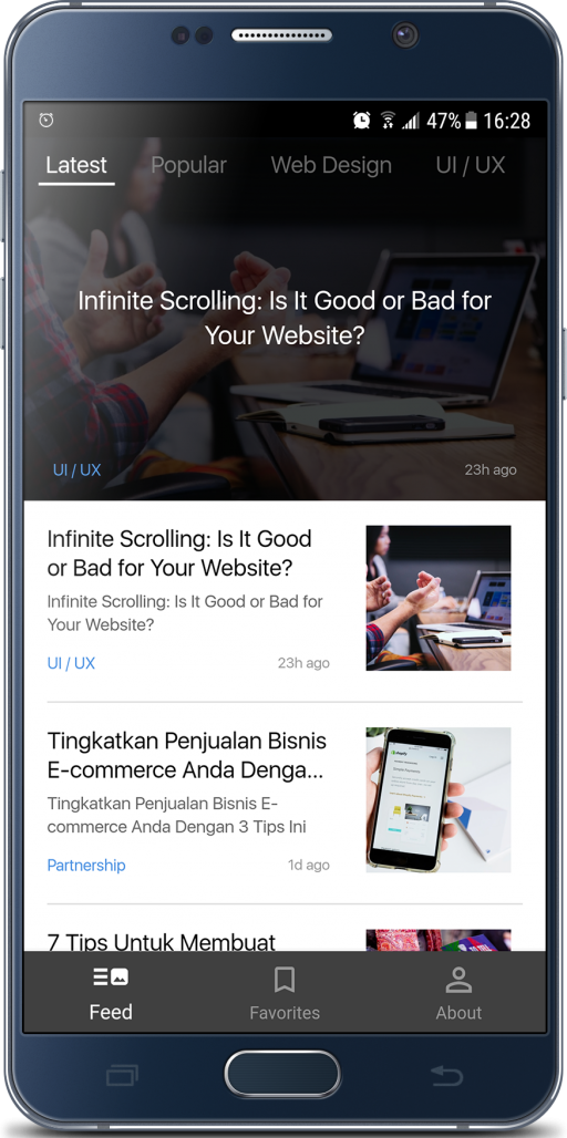 E-News Berita Teknologi