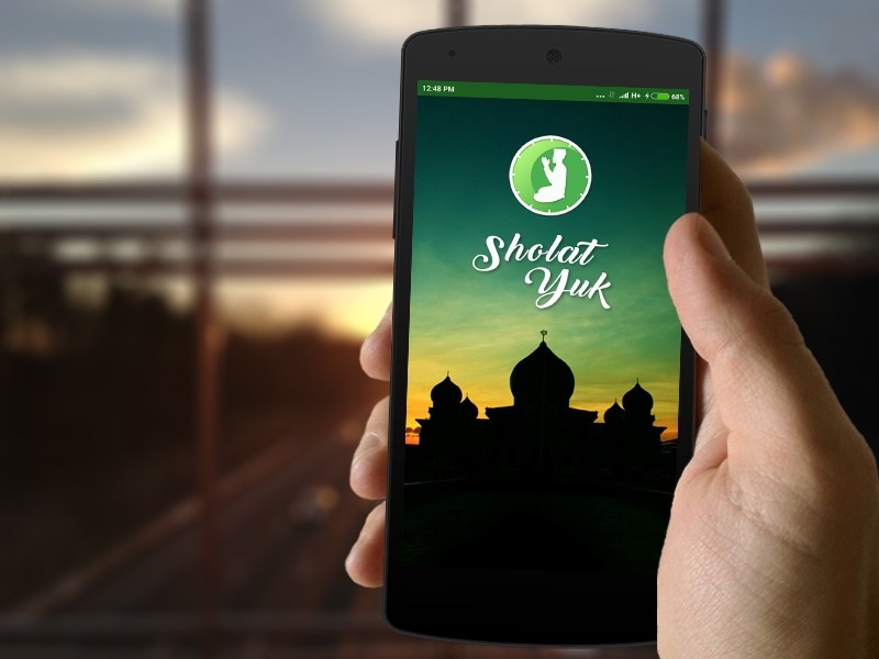 SholatYuk - Aplikasi Alarm Pengingat Sholat Portfolio of Eannovate.com